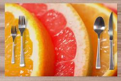 Prostírání Plátky pomeranče 42x28 cm