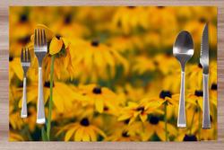 Prostírání Žluté květiny 42x28 cm