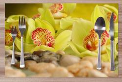 Prostírání Zelená orchidej 42x28 cm