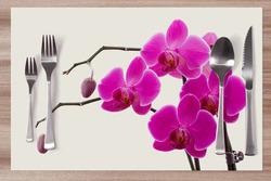 Prostírání Orchidej růžová 42x28 cm
