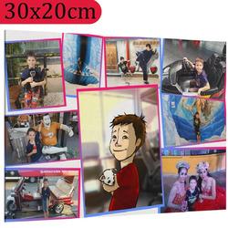 Foto na plátno ∞ fotografií a textů 30x20 cm
