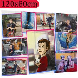 Foto na plátno ∞ fotografií a textů 120x80 cm