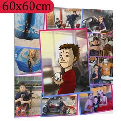 Fotoobraz ∞ fotografií a textů 60x60cm