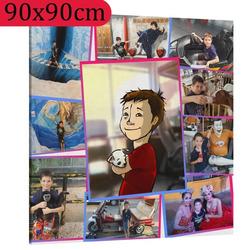 Fotoobraz ∞ fotografií a textů 90x90cm