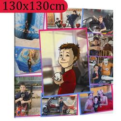 Fotoobraz ∞ fotografií a textů 130x130cm