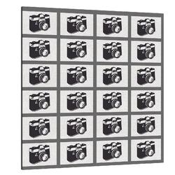 Fotoobraz koláž z 24 fotek 130x130cm