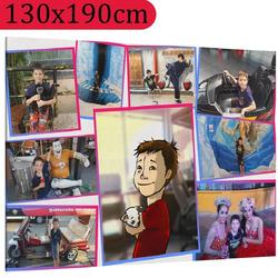 Foto na plátno ∞ fotografií a textů 130x190cm