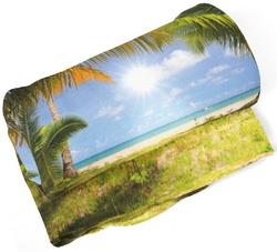 Deka Palmy na pláži