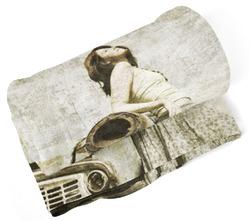 Deka Žena u auta