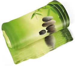 Deka Bambus s kameny