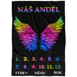Deka milníková-Anděl