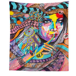 Tapestr Indiánka Art