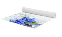 Běhoun Modré a bílé květy