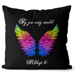 Polštář Ty jsi můj anděl