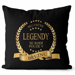 Polštář Skutečné legendy – měsíce