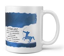 Hrnek Střelec (23.11. - 21.12.) - modrý