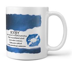 Hrnek Ryby  (21.1. - 20.3.) - modrý