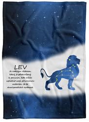 Deka Lev (23.7. - 22.8.) - modrá