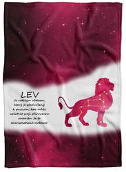Deka Lev (23.7. - 22.8.) - červená