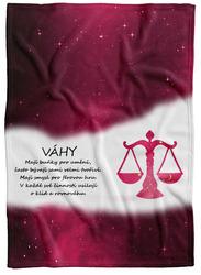 Deka Váhy (23.9. - 22.10.) - červená