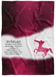 Deka Střelec (23.11. - 21.12.) - červená