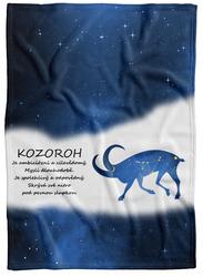 Deka Kozoroh (22.12. - 20.1.) - modrá