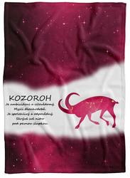 Deka Kozoroh (22.12. - 20.1.) - červená