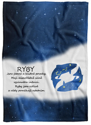 Deka Ryby  (21.1. - 20.3.) - modrá