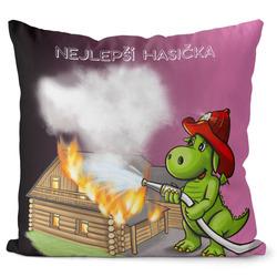 Polštář Soptík – hasička