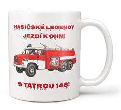 Hrnek Hasičské legendy – Tatra 148