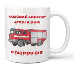 Hrnek Hasičské legendy – Tatra 815