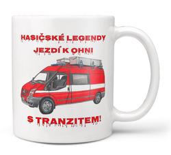 Hrnek Hasičské legendy – Tranzit