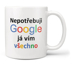 Hrnek Google - Já