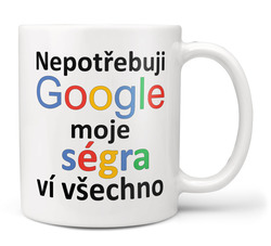 Hrnek Google - Ségra