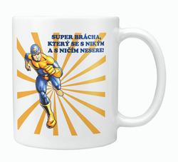 Hrnek Super brácha (hrdina)