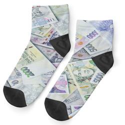 Ponožky Bankovky - dámské