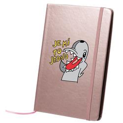 Adolfeen psací blok růžový  Je mi to jedno