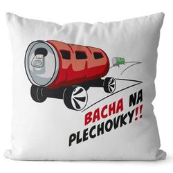 Polštář Bacha na plechovky