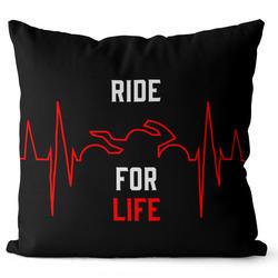 Polštář Ride for life