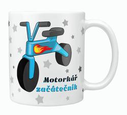 Hrnek Motorkář začátečník