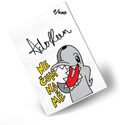 Adolfeen obraz s podpisem