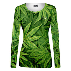 Tričko Cannabis – dámské (dlouhý rukáv)
