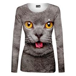 Tričko Číča Grey – dámské (dlouhý rukáv)