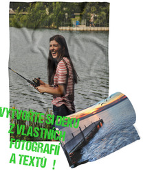 Deka z vlastních fotografií a textů Fleece 140x200cm/360g