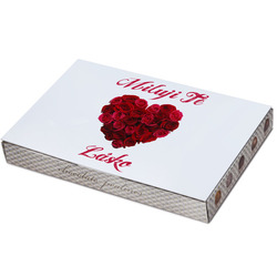 Bonboniéra Srdce z růží