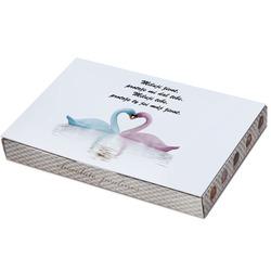 Bonboniéra Milující labutě