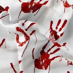 Fleece – Bloody hand