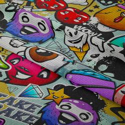 Nepromokavá tkanina – Graffiti