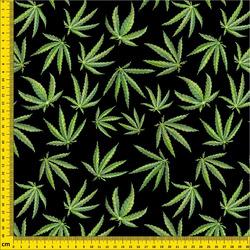 Strukturovaná tkanina – Cannabis