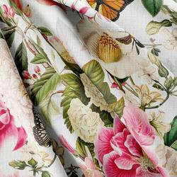 Strukturovaná tkanina – Flowers II